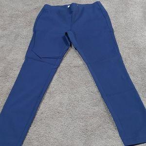 NWOT Navy leggings